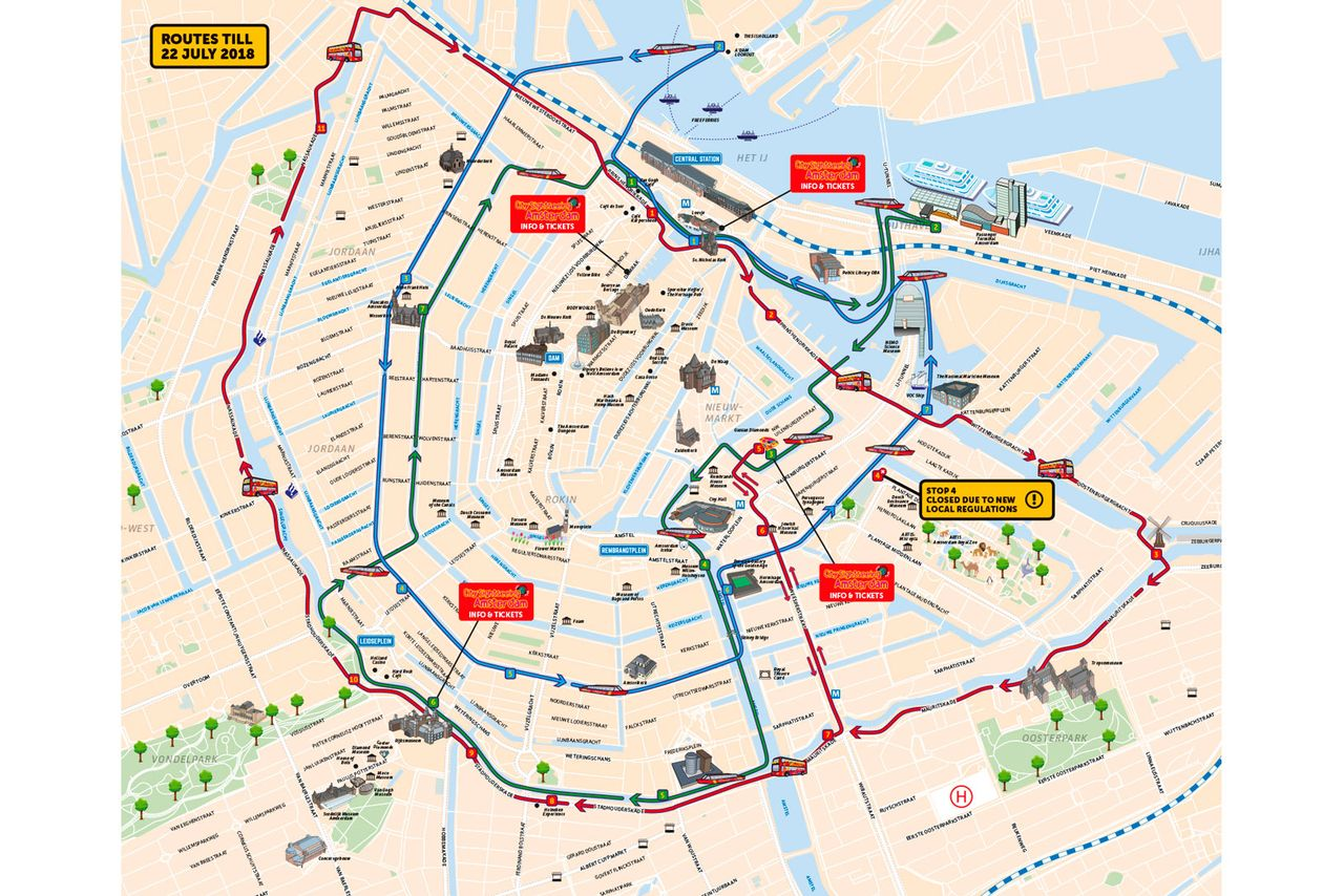 City Sightseeing Amsterdam Hop On Hop Off Bus And Boat