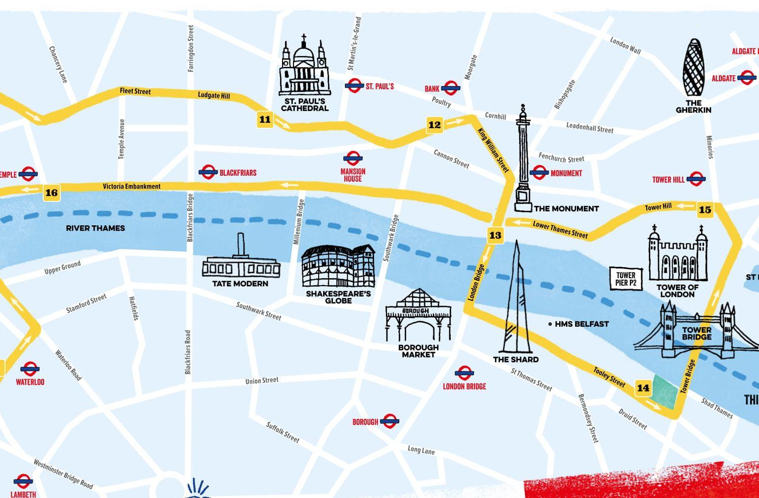 Paris and London Hop-On, Hop-Off Tour & Thames Cruise