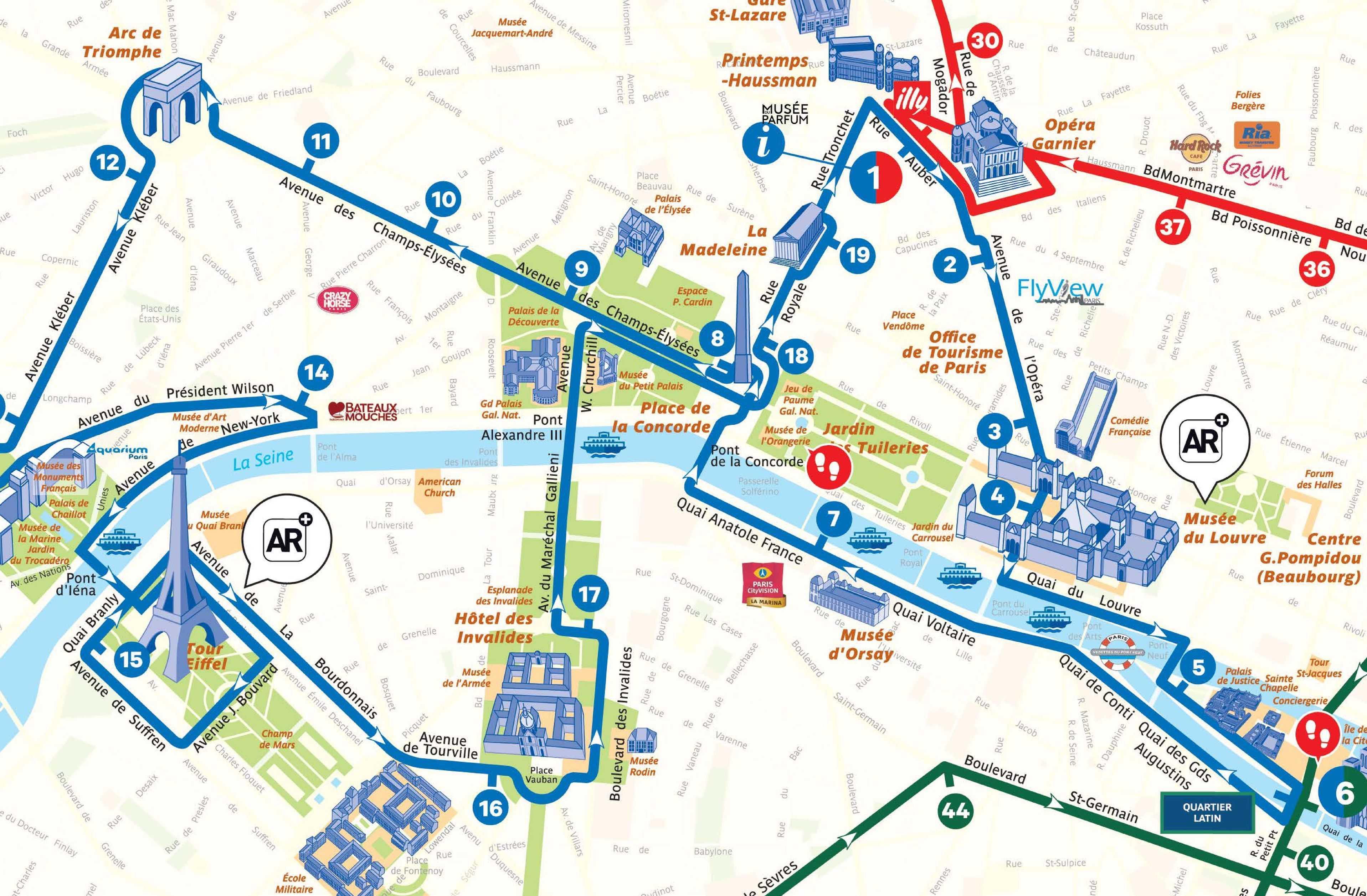 Paris And London Hop On Hop Off Tour Thames Cruise