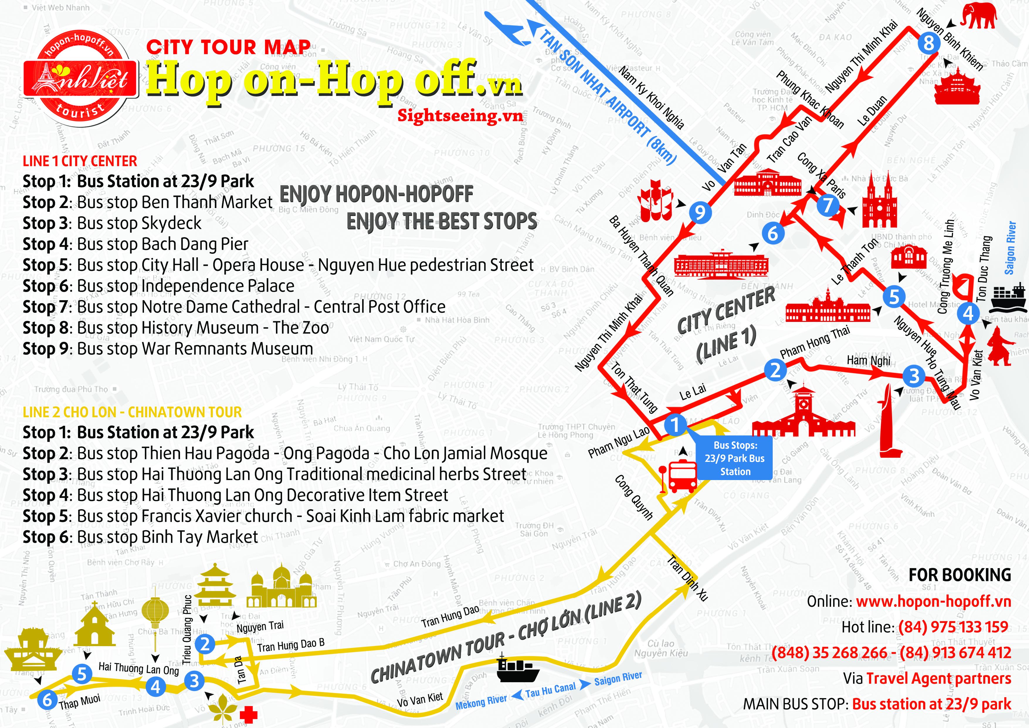 Ho Chi Minh City Hop On Hop Off City Tour