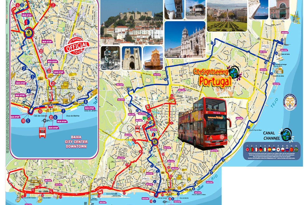City Sightseeing Lisbon Hop On Hop Off Bus Tour