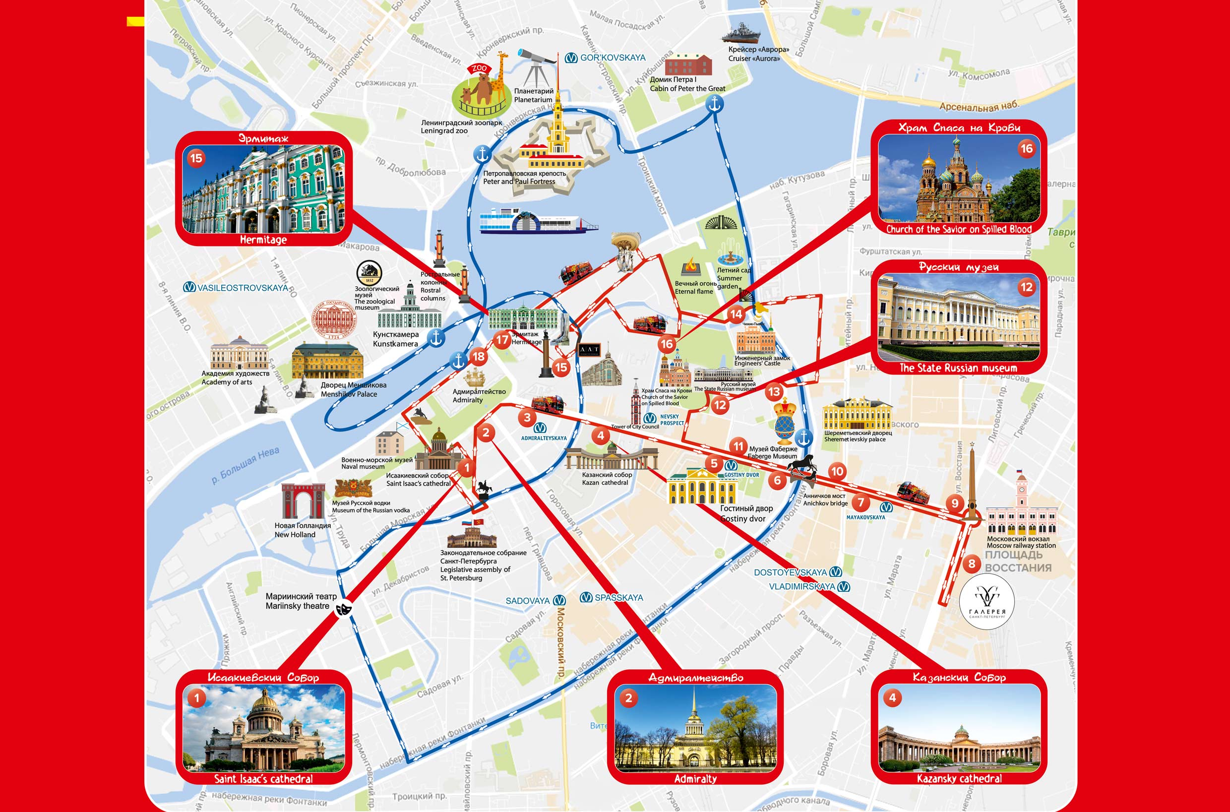 Hop On Off Rome Route Map on
